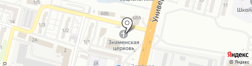 Егоза на карте Волгограда