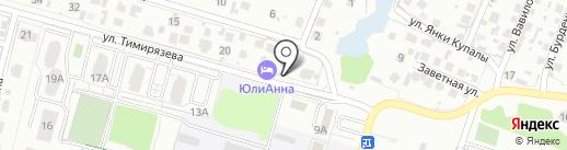 ЮлиАнна на карте Волгограда