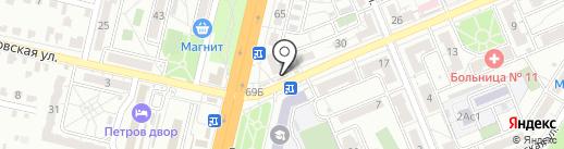Мармеладов на карте Волгограда