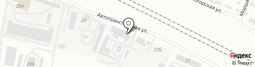 Пинта на карте Волгограда