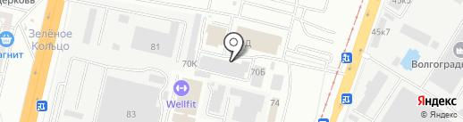 Компания по изготовлений памятников на карте Волгограда