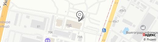 Магазин часов и солнцезащитных очков на карте Волгограда