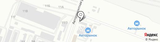 Волгавто на карте Волгограда