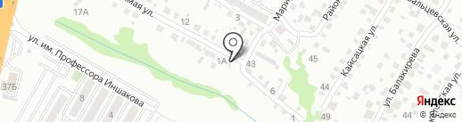 Феррум на карте Волгограда