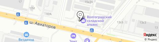 Арка-М на карте Волгограда