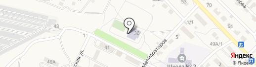 Городищенская районная ДЮСШ на карте Городища