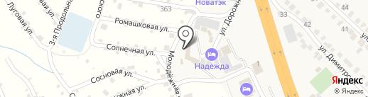 Надежда на карте Городища