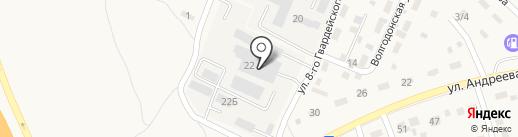 Камфиштрейд на карте Городища