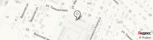 СПМК-69 на карте Городища