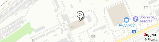 МК-Поволжье на карте Волгограда