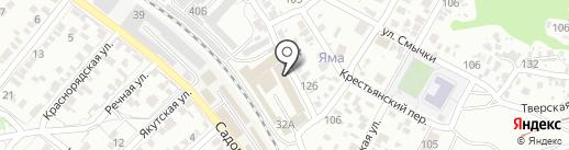 Альтаир на карте Волгограда