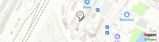 Сапром на карте Волгограда