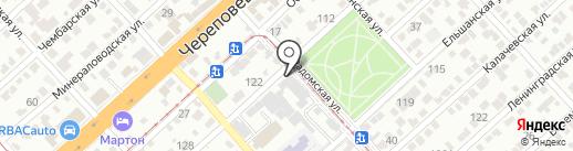 Софт на карте Волгограда