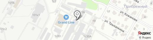 Кит-Промо на карте Волгограда