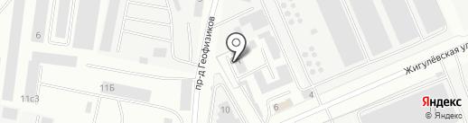 МТМ Сервис на карте Волгограда