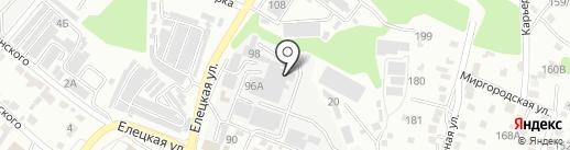 Элеватормельмонтаж, ЗАО на карте Волгограда