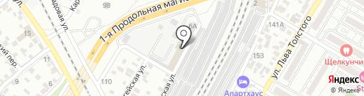 Юнипласт на карте Волгограда