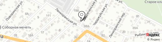 Кухни Мечты на карте Волгограда