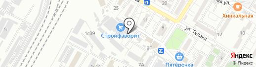 Керамика будущего Azori на карте Волгограда