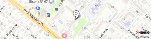 Импульс на карте Волгограда