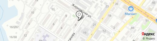 Волгоградинженерпроект на карте Волгограда