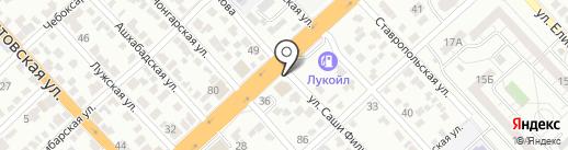 DAVTO на карте Волгограда