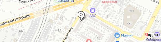 Подводное измерение на карте Волгограда