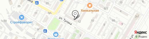 Управление жилищным фондом Советского района на карте Волгограда