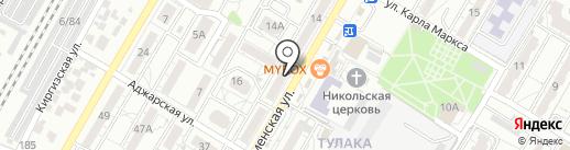 МЕГАБИТ на карте Волгограда