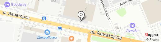 Сим + на карте Волгограда