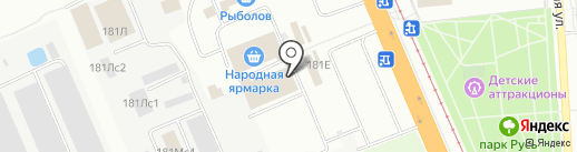 Мясо-Халяль на карте Волгограда