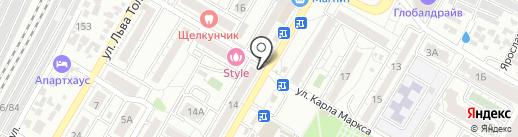 Центр Коммунального Обслуживания-9 на карте Волгограда