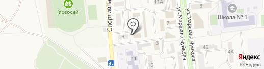 Федерация служебного собаководства на карте Городища
