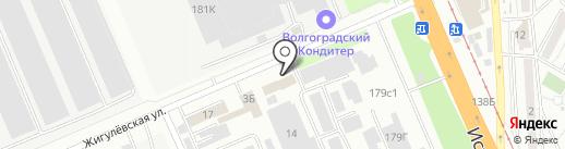 Надежда на карте Волгограда