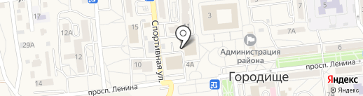 Банкомат, Банк ВТБ 24 на карте Городища
