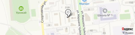 Пекарня на карте Городища