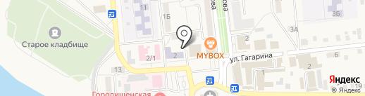ИВЦ ЖКХ и ТЭК на карте Городища
