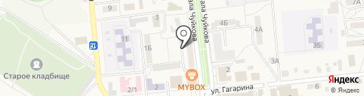 Женская консультация на карте Городища