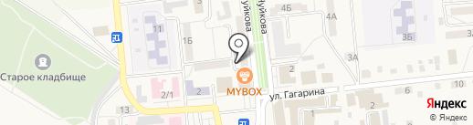 Сметана на карте Городища