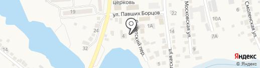 Магазин электротоваров на карте Городища
