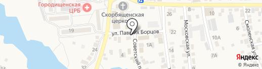 Магазин фастфудной продукции на карте Городища