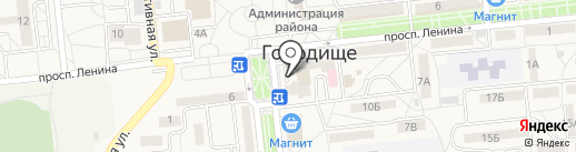 Kassa34.ru на карте Городища