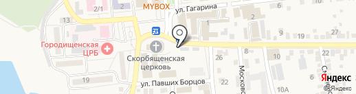 МегаФон на карте Городища