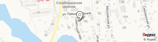 Мастерок на карте Городища