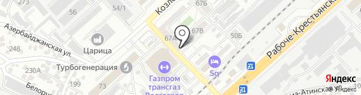 Tower на карте Волгограда