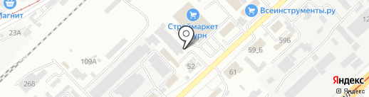 ПРОЕКТ на карте Волгограда