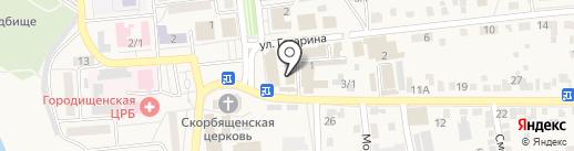 Парикмахерская на карте Городища