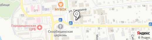 Магазин семян на карте Городища
