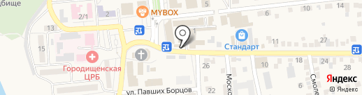 Союзпечать на карте Городища