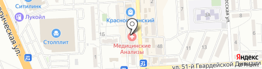 Социальная и юридическая поддержка родного города, НП на карте Волгограда